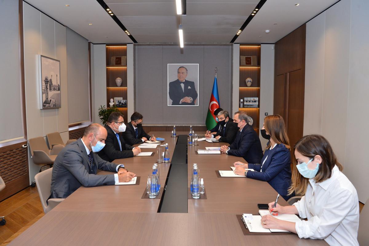 Azerbaijani FM receives newly appointed representative of EU to Azerbaijan