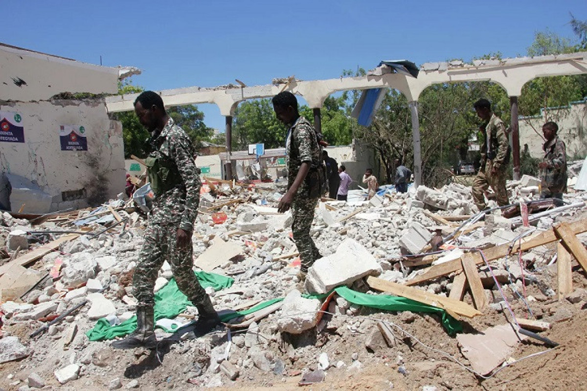 Somali paytaxtında törədilmiş partlayış zamanı 10 nəfər ölüb