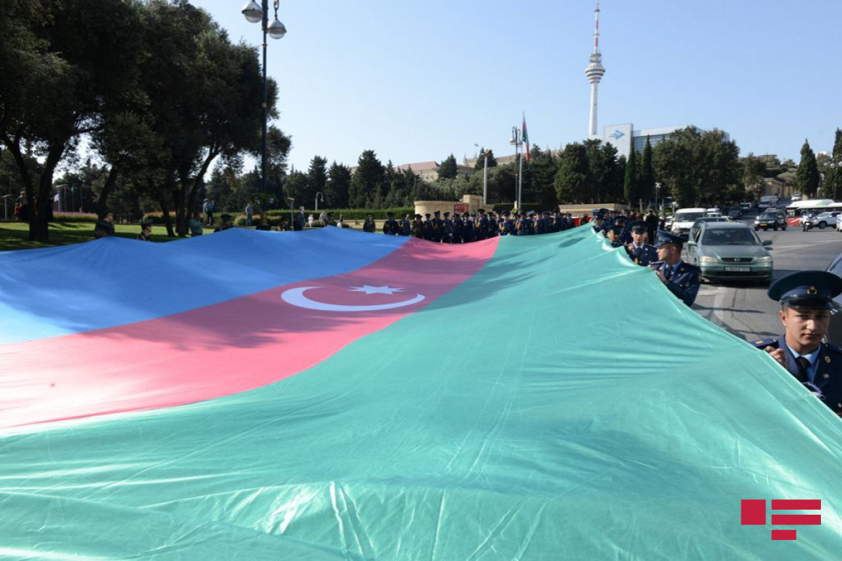 March being held on the occasion of the 103rd anniversary of liberation of Baku from occupation
