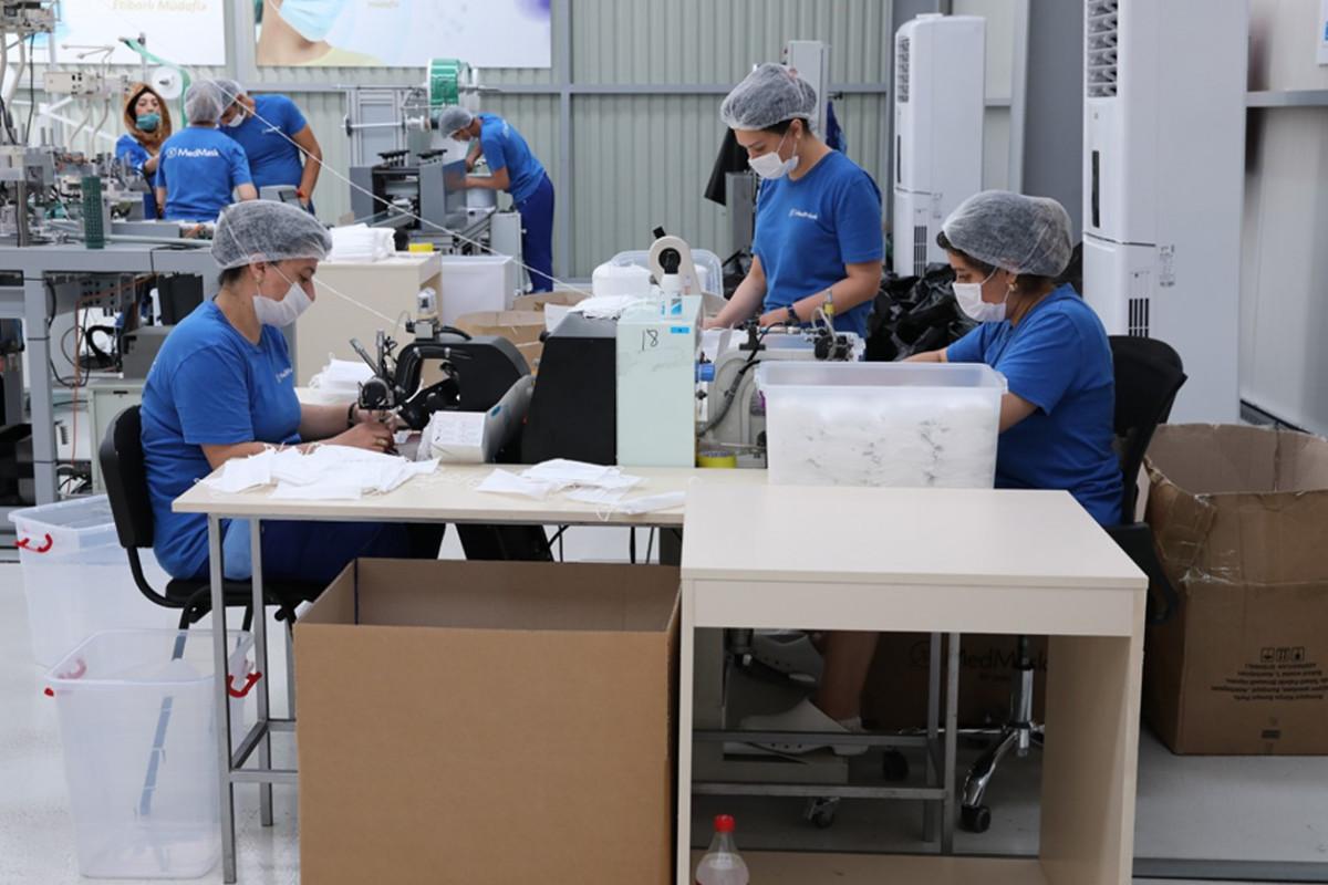 Azərbaycan tibbi maska istehsalını kəskin artırıb