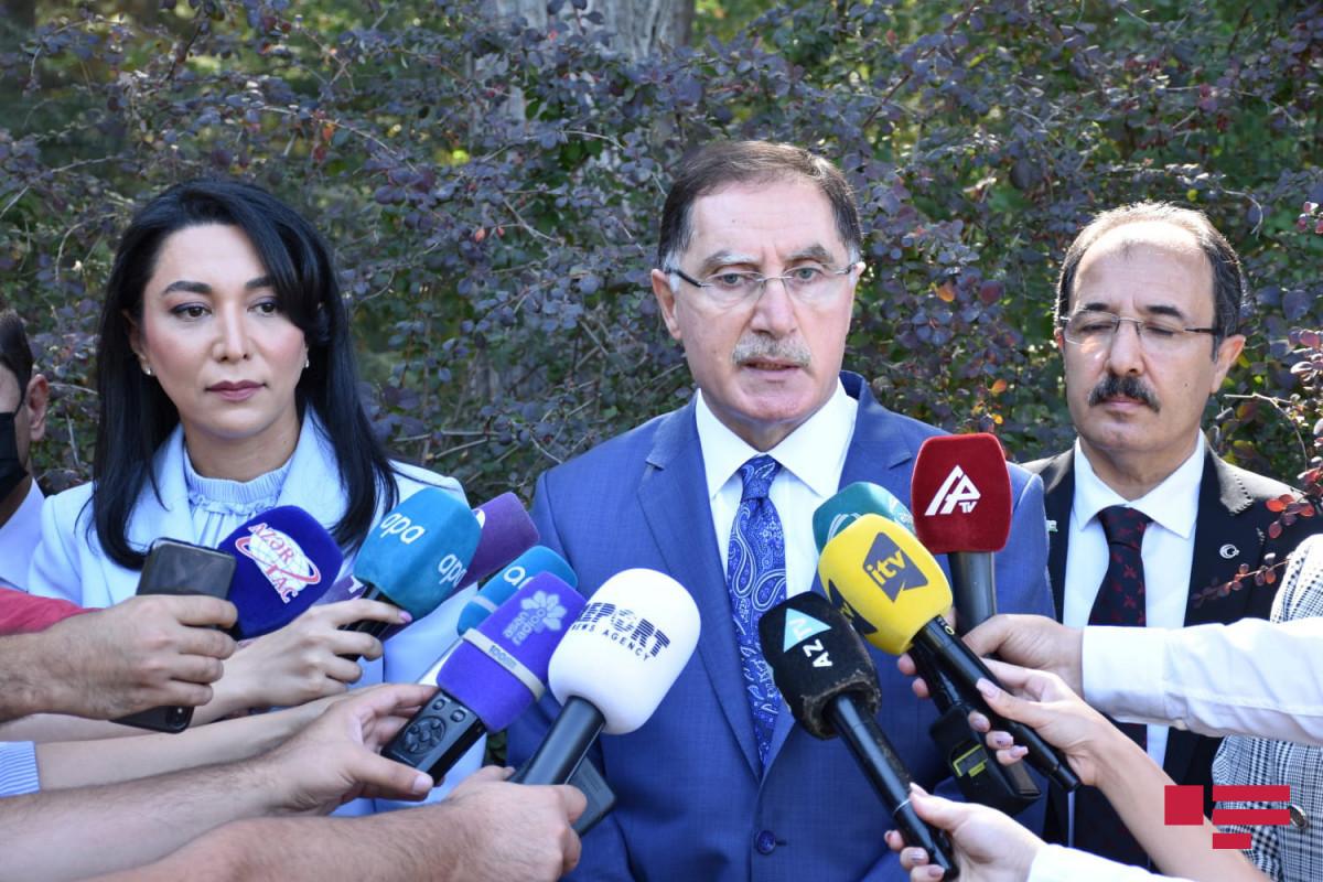 Chief Ombudsman of Turkey Sharaf Malkoch
