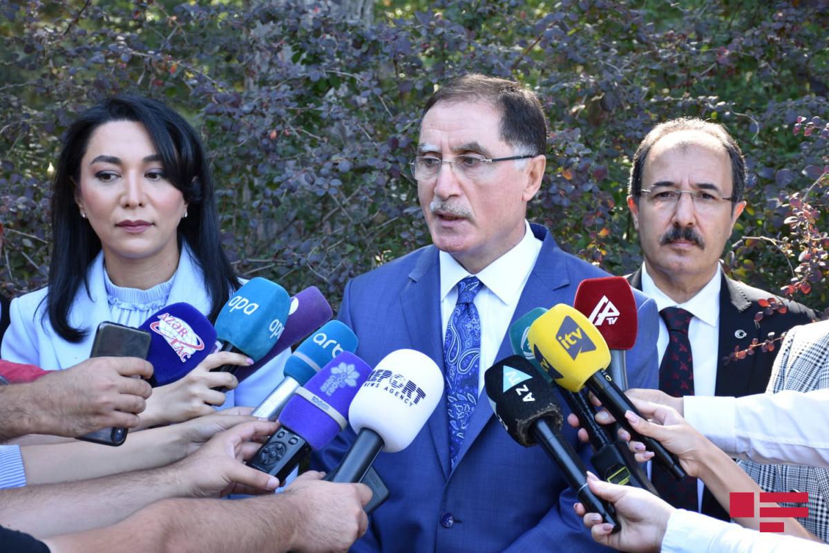 Chief Ombudsman of Turkey Sharaf Malkoc