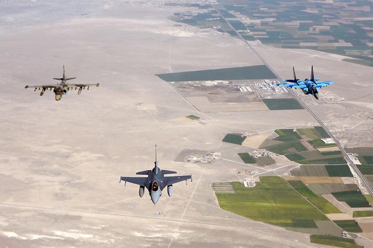 """TurAz Falcon - 2021"" joint flight-tactical exercises continue -VIDEO"