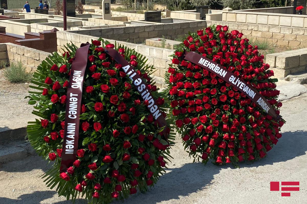 "Mehriban Aliyeva sends wreath to funeral ceremony of Yagub Zurufuchu-<span class=""red_color"">PHOTO"