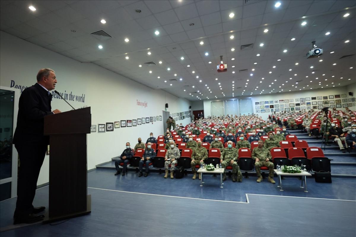 "Hulusi Akar: ""Turkish, and Russian servicemen make joint effort for lasting ceasefire in Karabakh"""