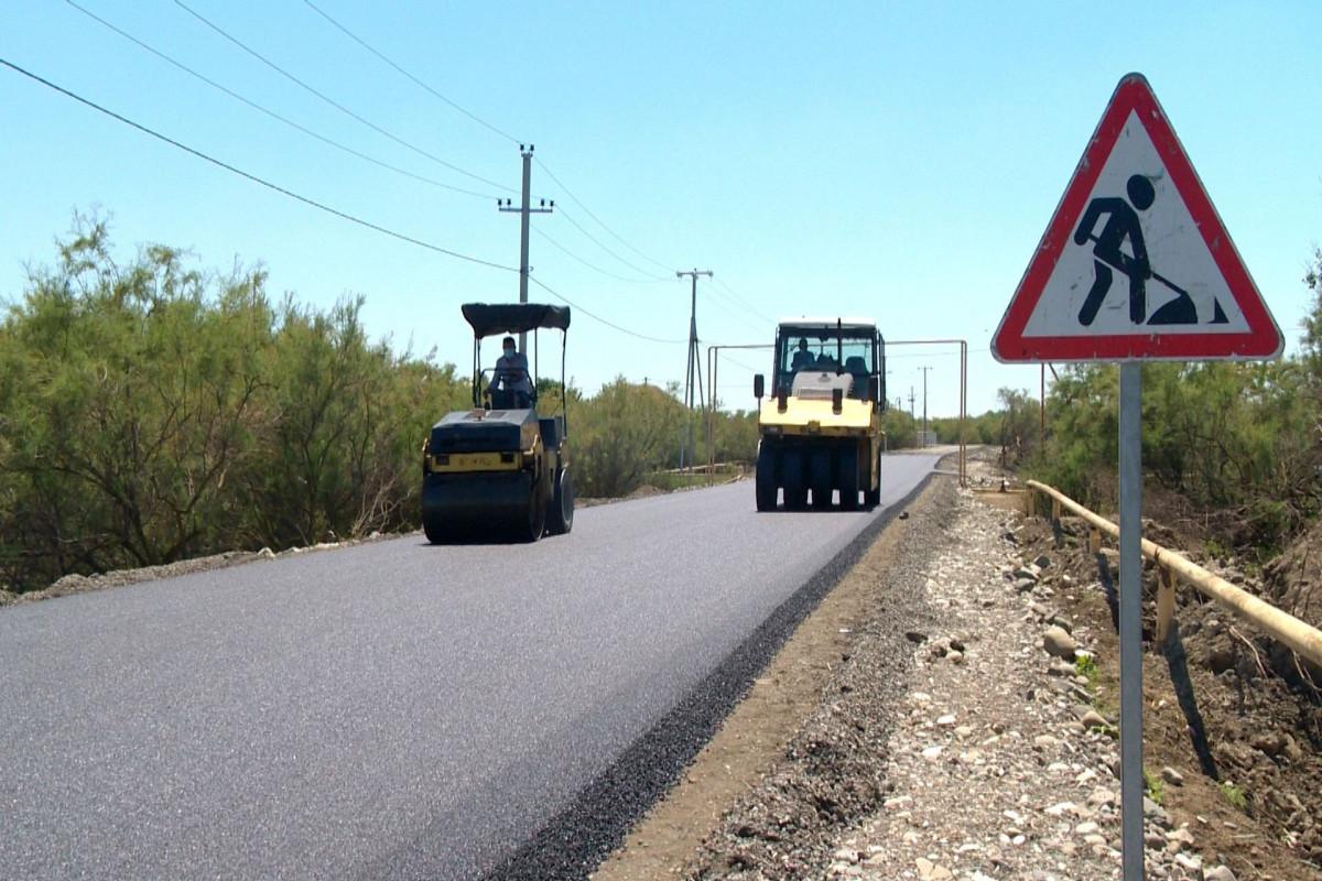 Для продолжения строительства дороги, соединяющей 7 населенных пунктов в Уджаре, выделено 8 млн манатов