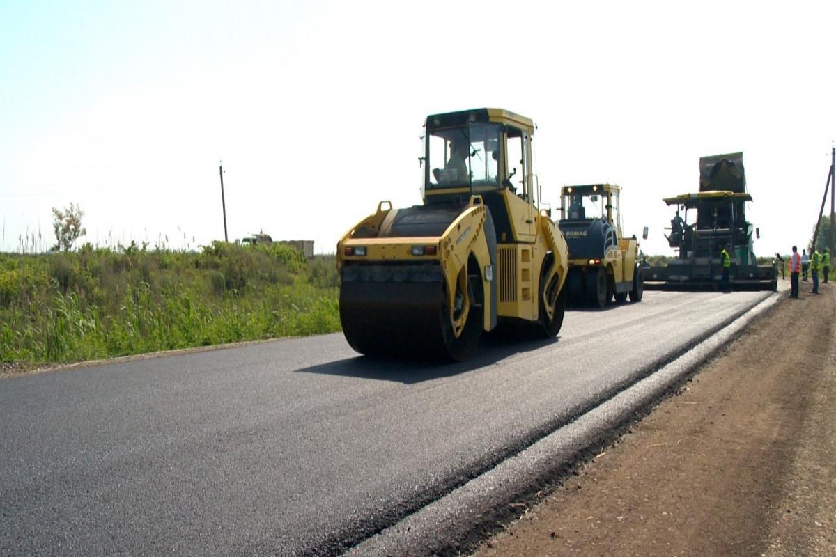 AZN 8 million allocated for road construction in Azerbaijan