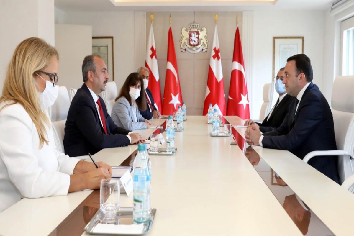 """Gürcüstanın Baş naziri: """"Effektiv əməkdaşlıq regionda sabitlik üçün yeganə yoldur"""""""