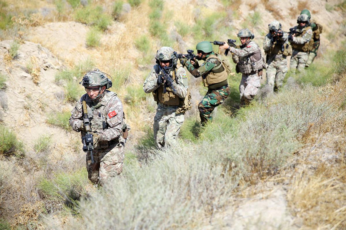Продолжаются учения спецназовцев Азербайджана, Турции и Пакистана – ВИДЕО