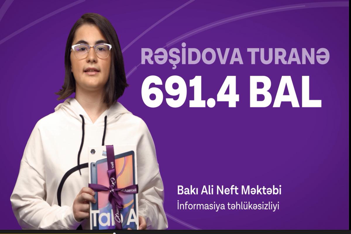 """Azercell"" rekord bal toplayan abituriyentləri təbrik edib - FOTO  - VİDEO"