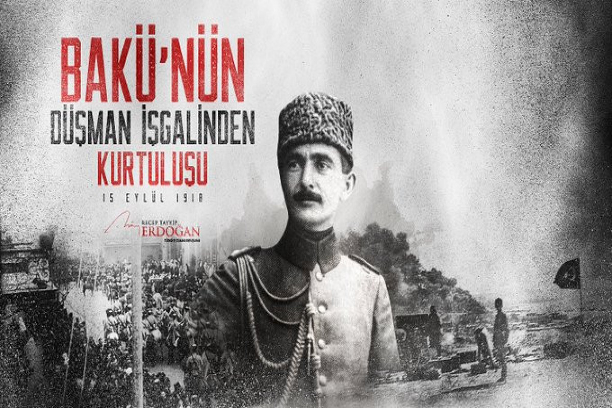 Erdogan makes congratulation post on the occasion of 103rd anniversary of Baku