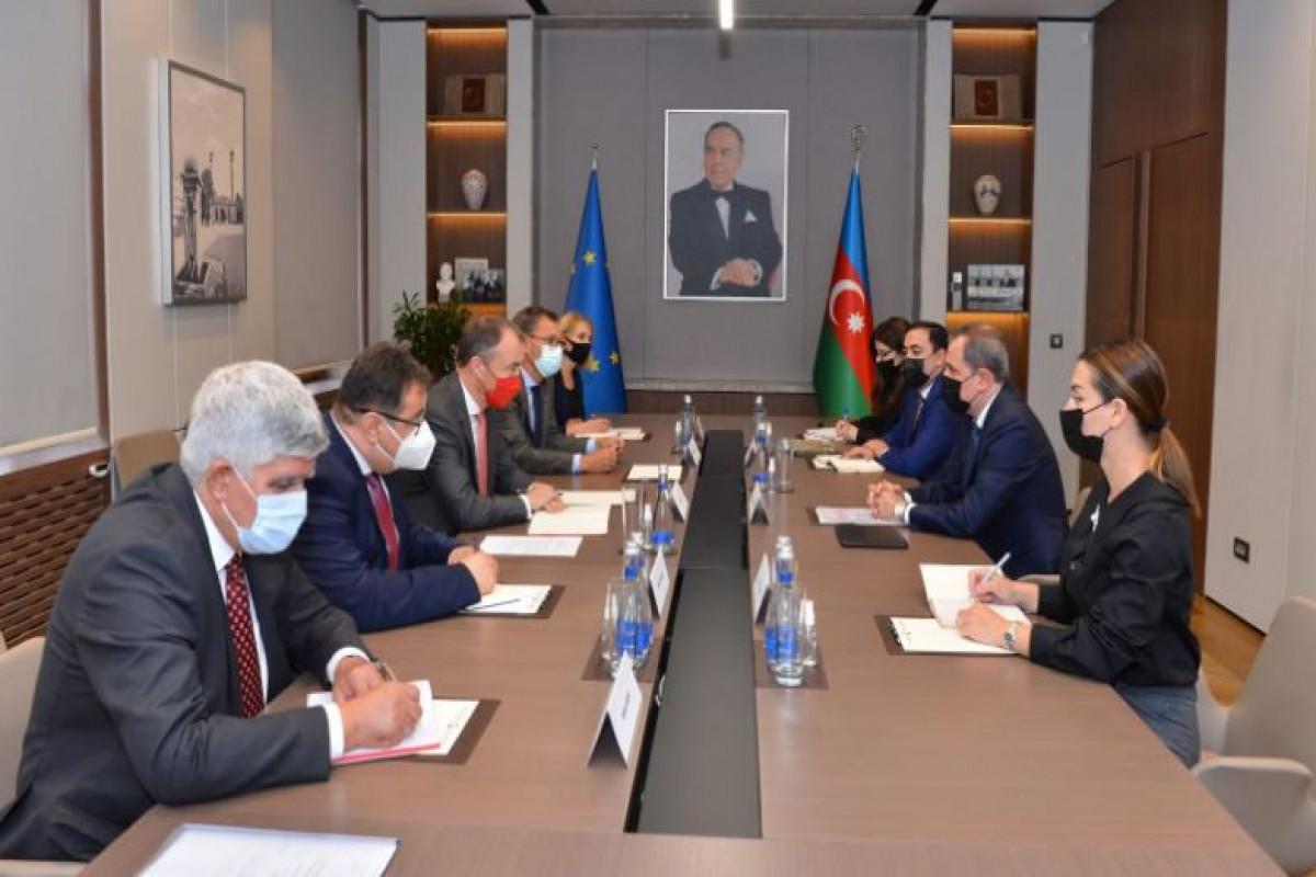 Azerbaijani FM met with the EU Special Representative for the South Caucasus