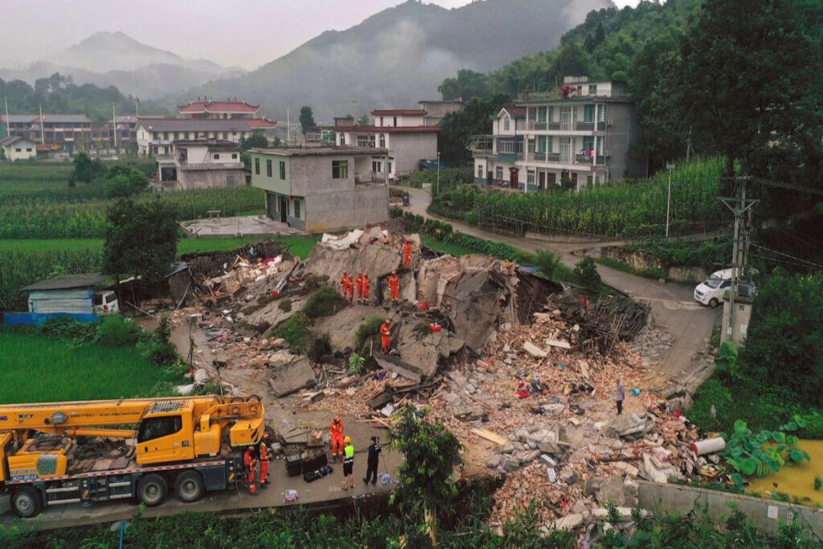 6.0-magnitude quake in SW China