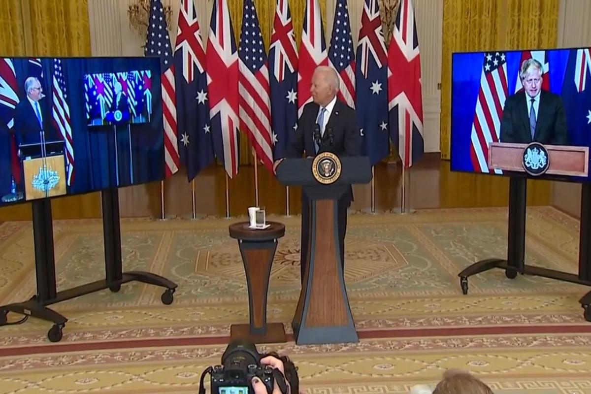 """Bayden üçtərəfli görüş zamanı Avstraliya baş nazirinin adını unudub - <span class=""""red_color"""">VİDEO"""