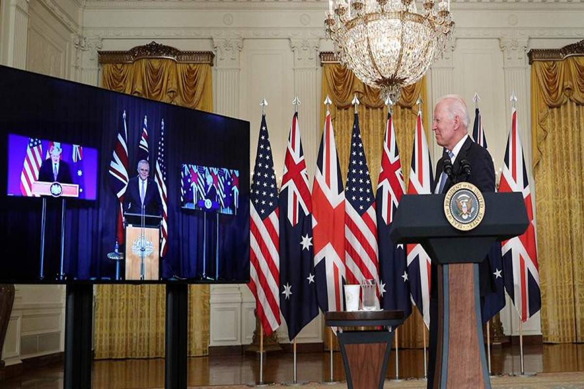 Bayden üçtərəfli görüş zamanı Avstraliya baş nazirinin adını unudub - VİDEO