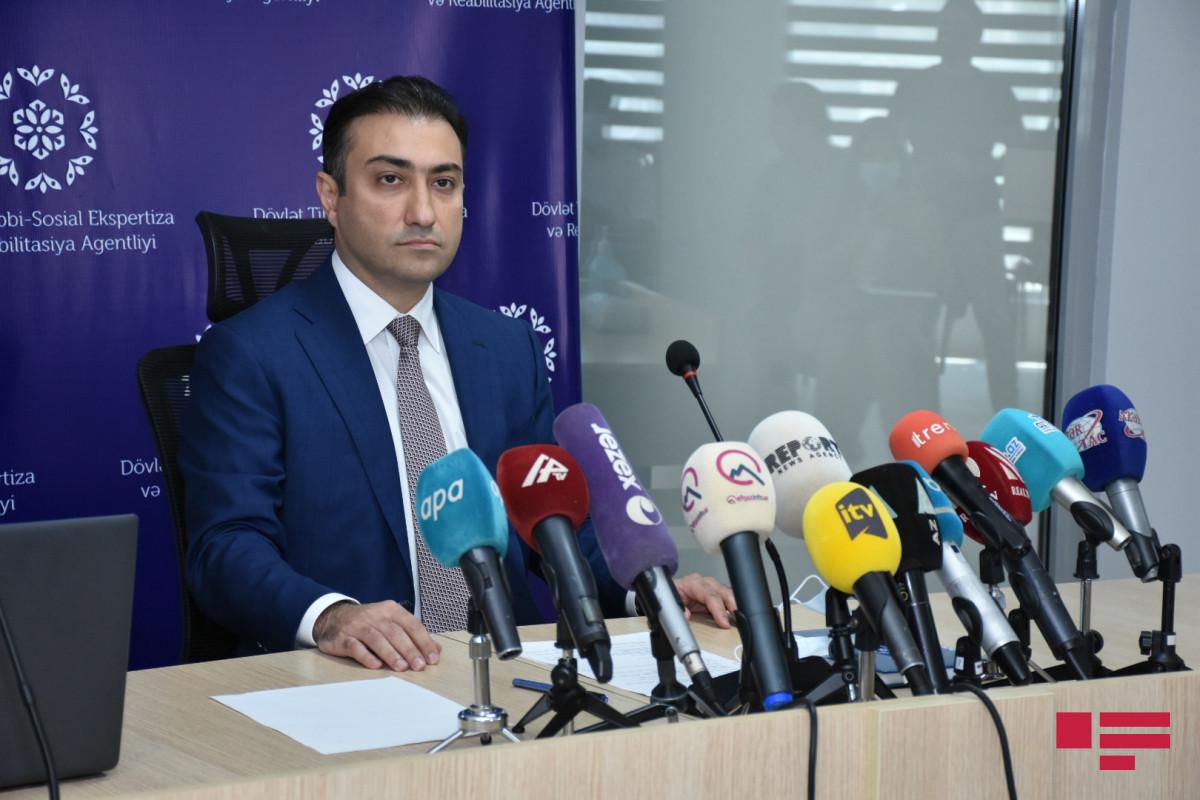 chairmanof theboardof theState AgencyforMedical ExpertiseandRehabilitation Anar Bayramov
