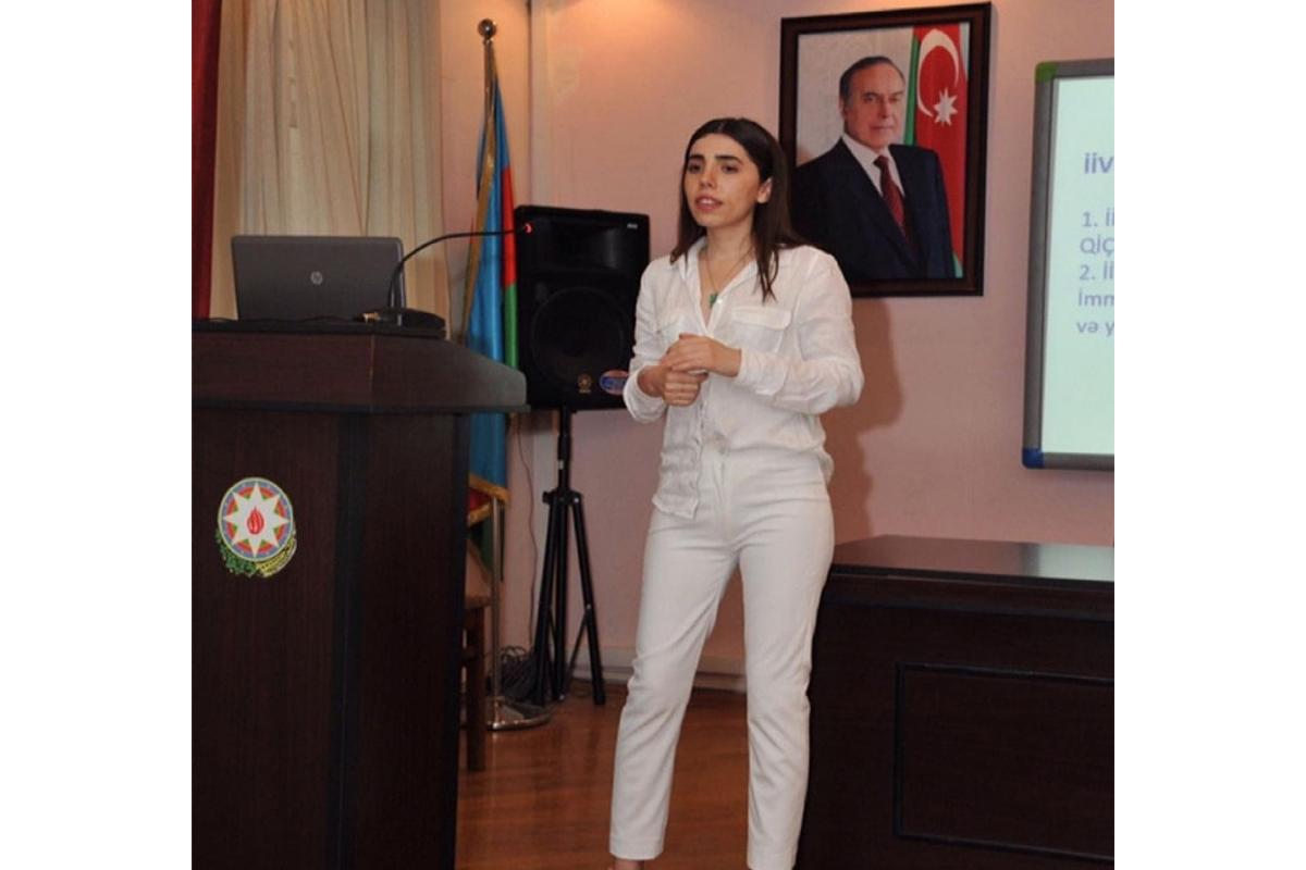 Səhiyyə Nazirliyi Psixi Sağlamlıq Mərkəzinin psixoloqu Aygün Sultanova