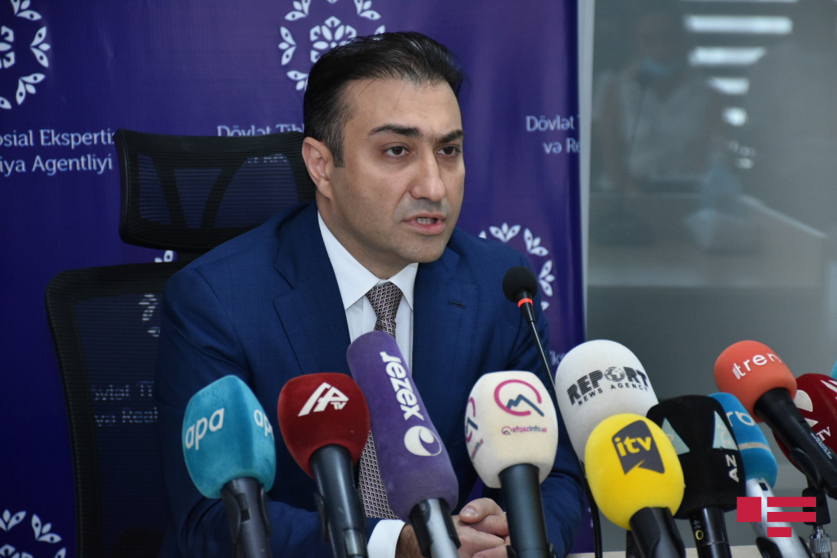 hairman of Board of State Agency for Medical-Social Expertise and Rehabilitation Anar Bayramov