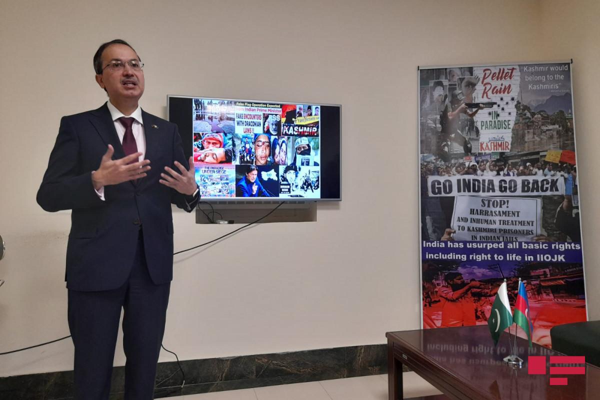 "Pakistani Ambassador: ""Azerbaijan understands will of people of Kashmir"""