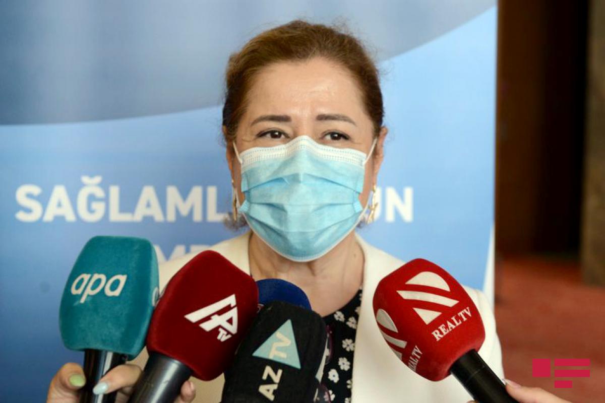 Hande Harmanci, theRepresentativeof theWorld Health Organization(WHO) inAzerbaijan