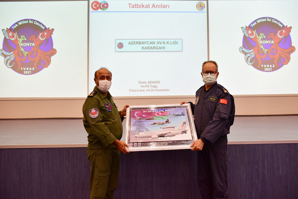 "Closing ceremony of ""TurAz Falcon - 2021"" exercises held"