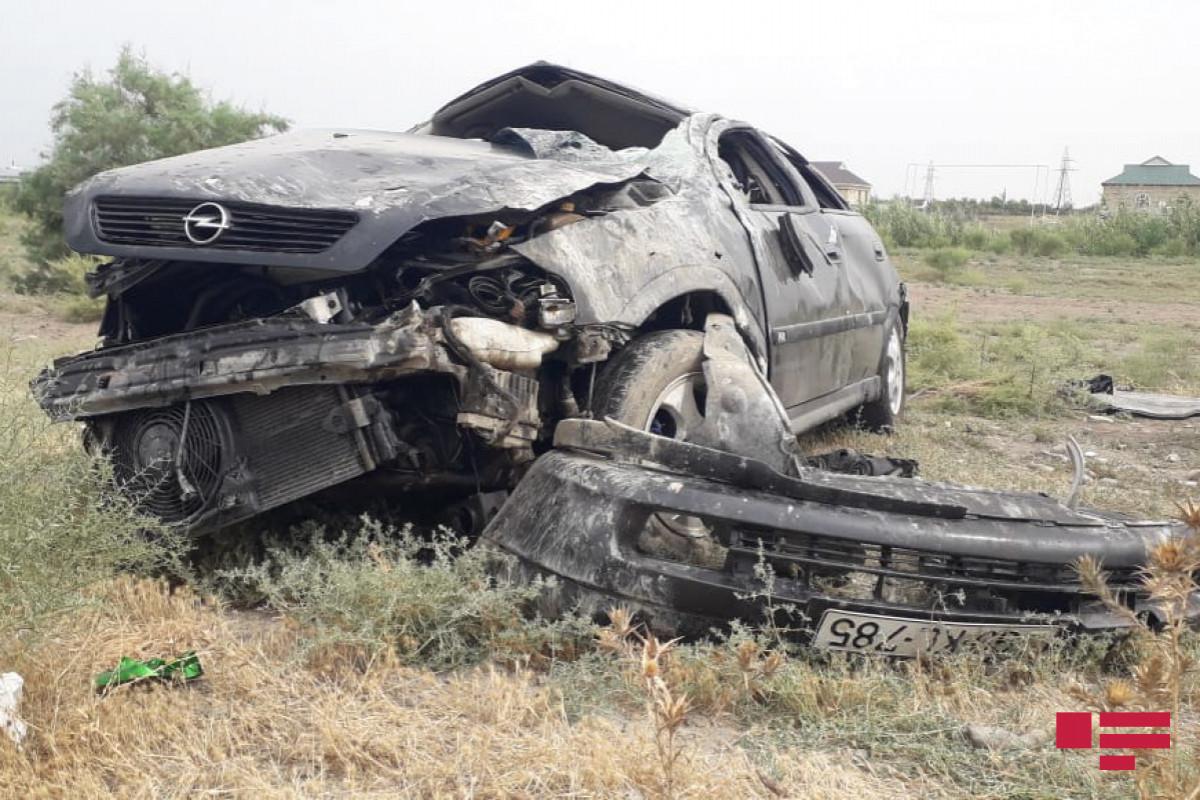 Lənkəranda avtomobil aşıb, sürücü ölüb