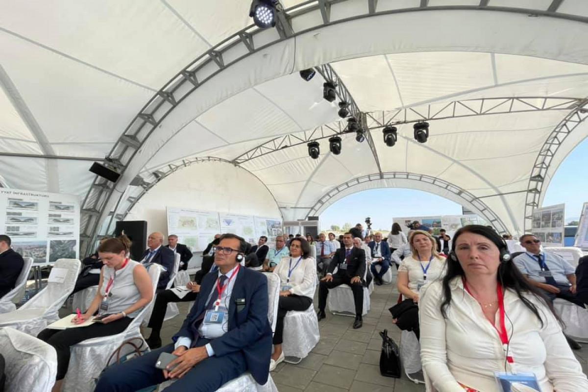 В Агдаме проходит международная конференция