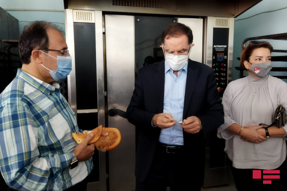 Delegation of OIC Ombudsmen Association visitsbread making factory in Shusha-PHOTO