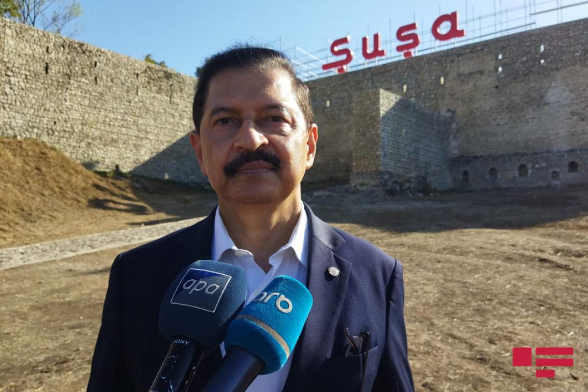 İslam Əməkdaşlıq Təşkilatının Ombudsmanlar Assosiasiyasının Baş katibinin müşaviri Muhammad Javed Ghani