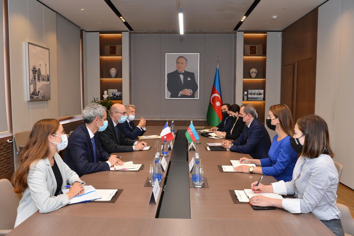 Обсуждено двустороннее сотрудничество между Азербайджаном и Францией