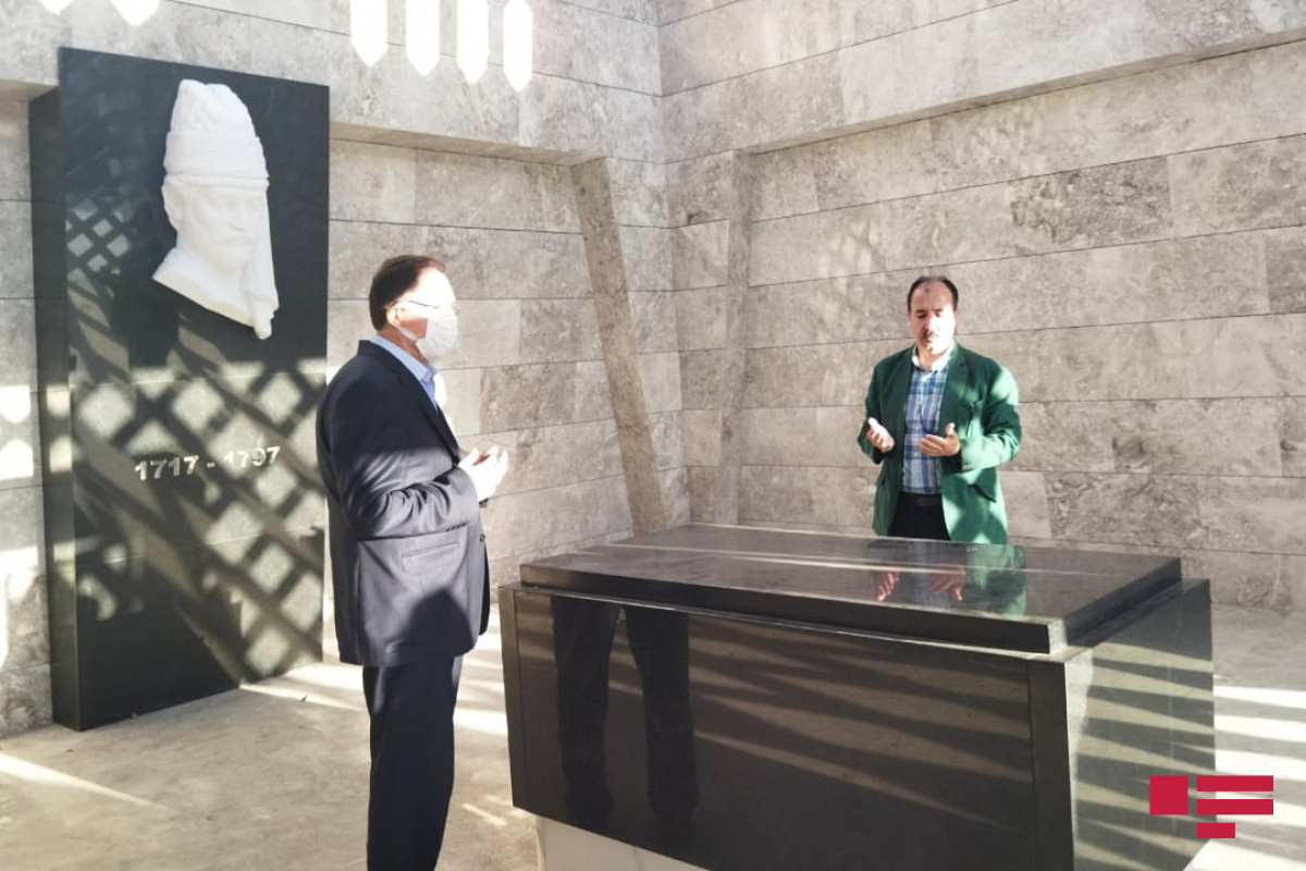 """OIC OA delegation visits Vagif Mausoleum in Shusha-<span class=""""red_color"""">PHOTO"""