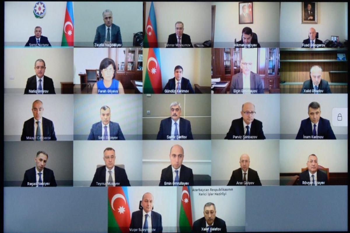 Coordination Headquarters of Azerbaijan held next meeting