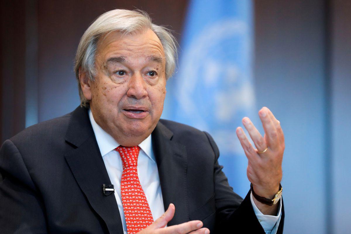Glasgow climate summit at risk of failure, U.N. chief warns