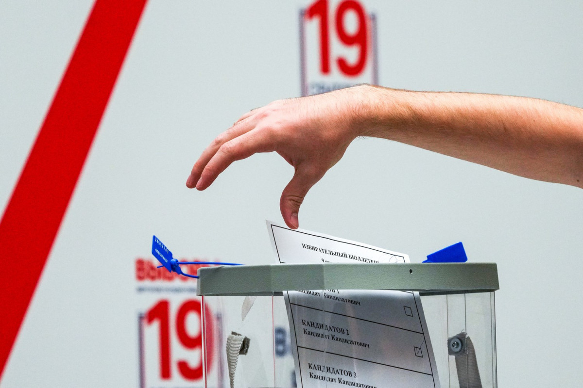 В России началось голосование на выборах депутатов Госдумы