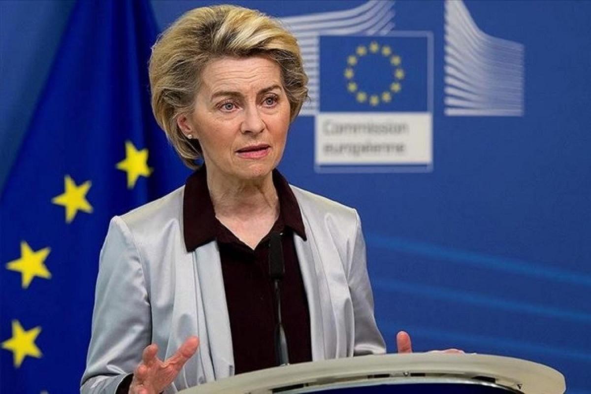 EU must step up and build defence, says von der Leyen