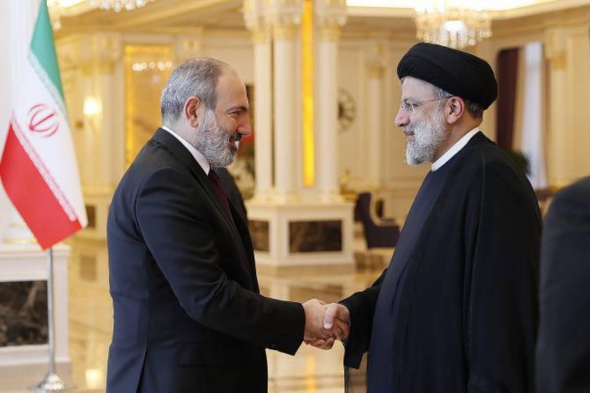 İran Prezidenti Paşinyanla görüşüb