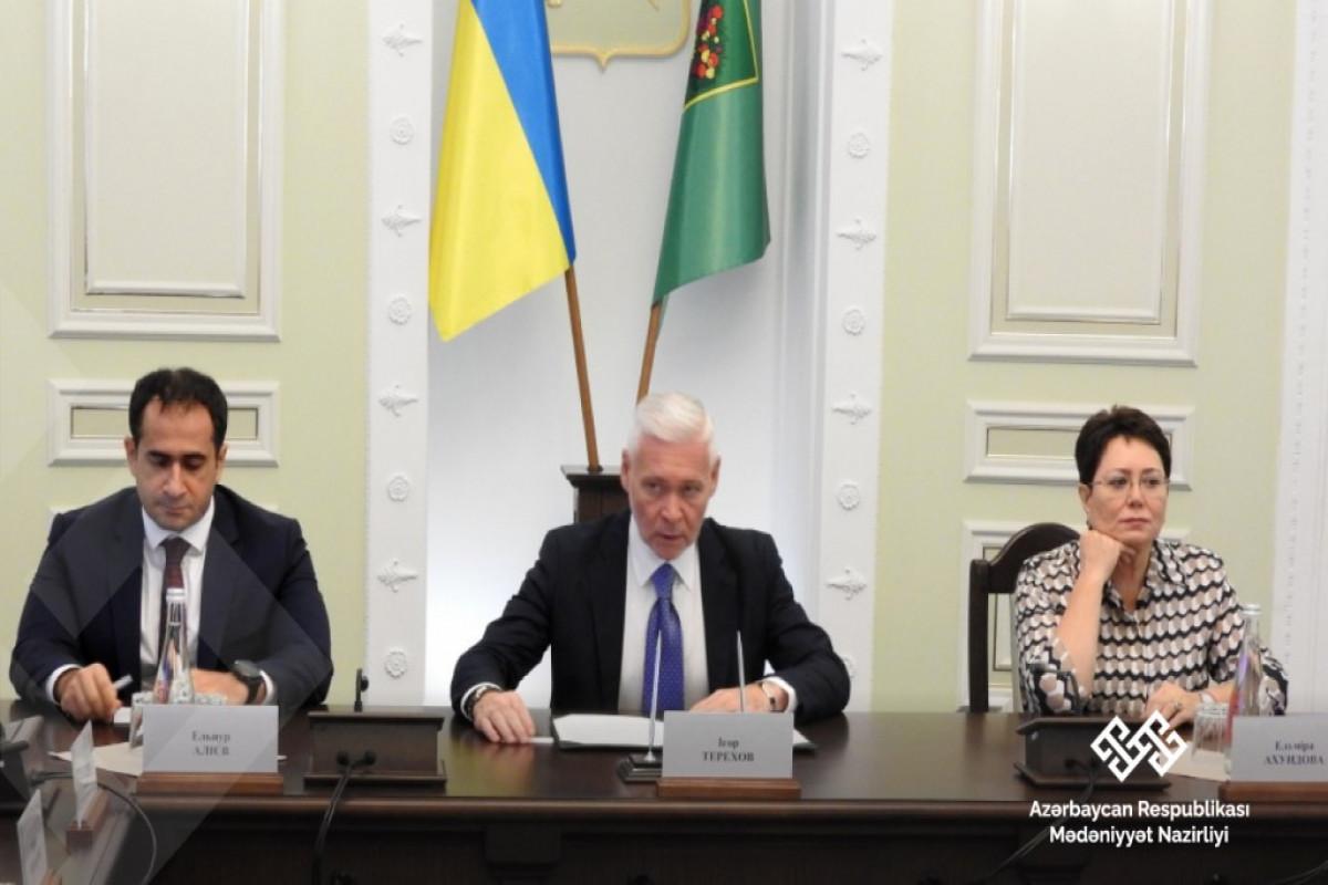 Ukraynada Azərbaycan diaspor nümayəndələri ilə görüş keçirilib