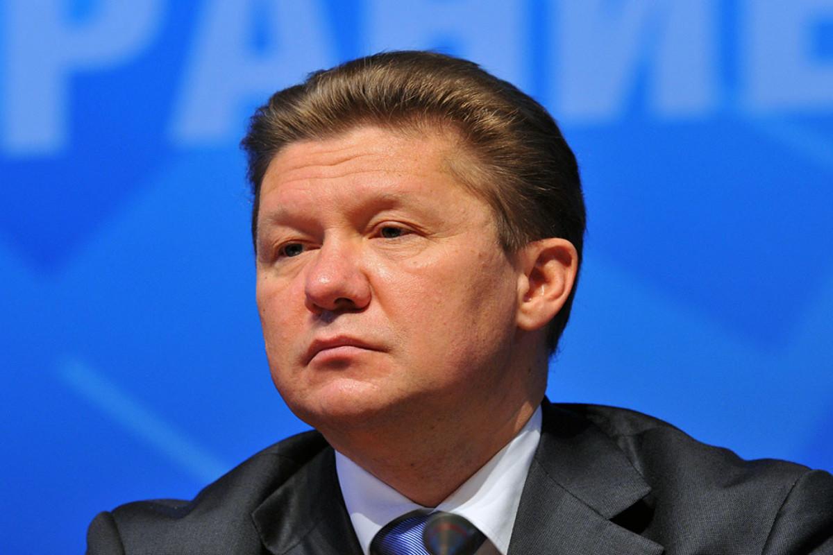 """Miller: """"Rusiya dünyada ən böyük qaz ehtiyatlarına malikdir"""""""