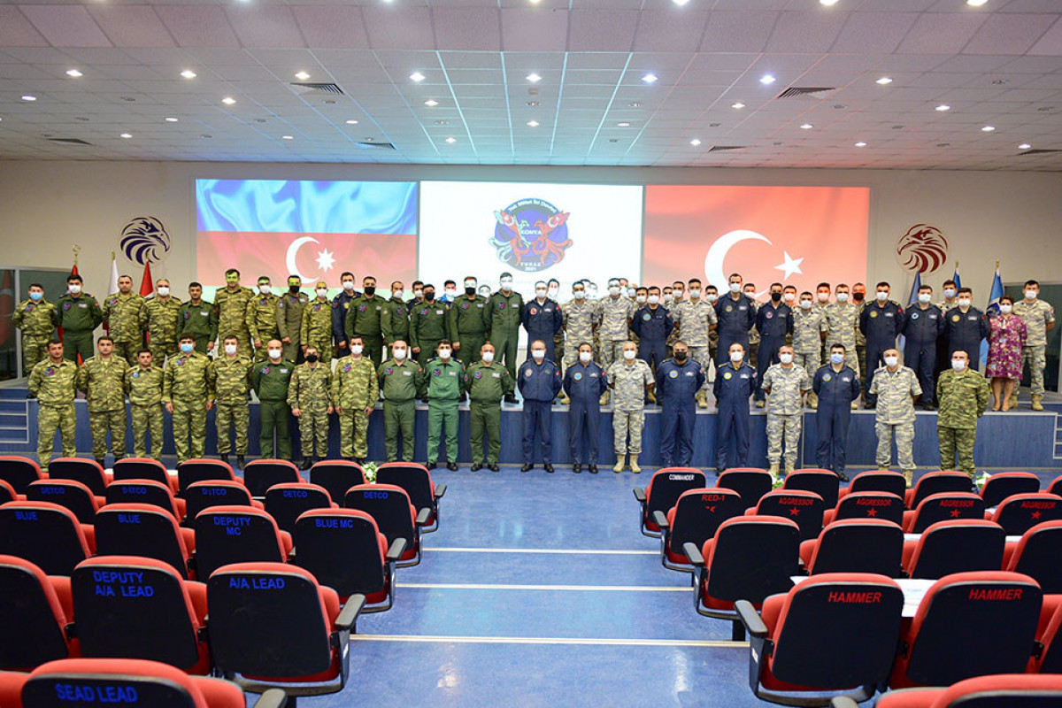 """Turkish MoD: """"TurAz Falcon - 2021"""" exercises jointly held with Azerbaijan successfully end"""