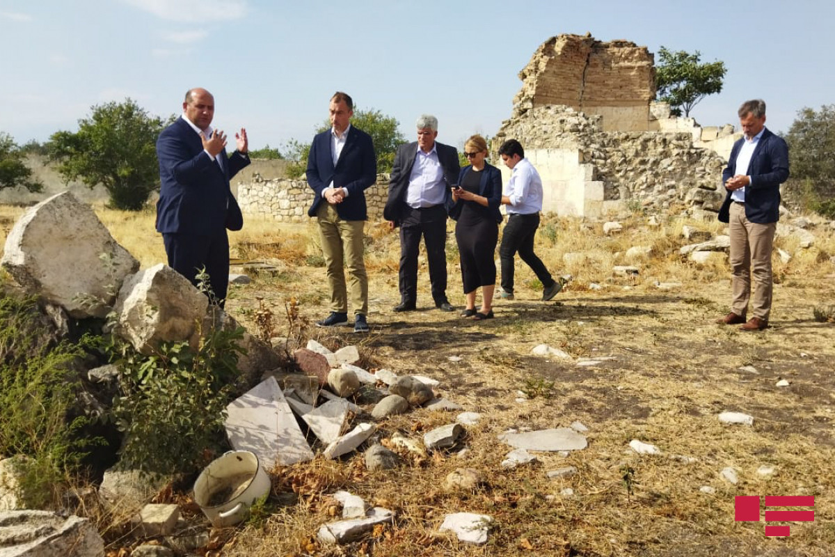 EU Special representative got acquainted with vandalism acts of Armenians in Imarat complex