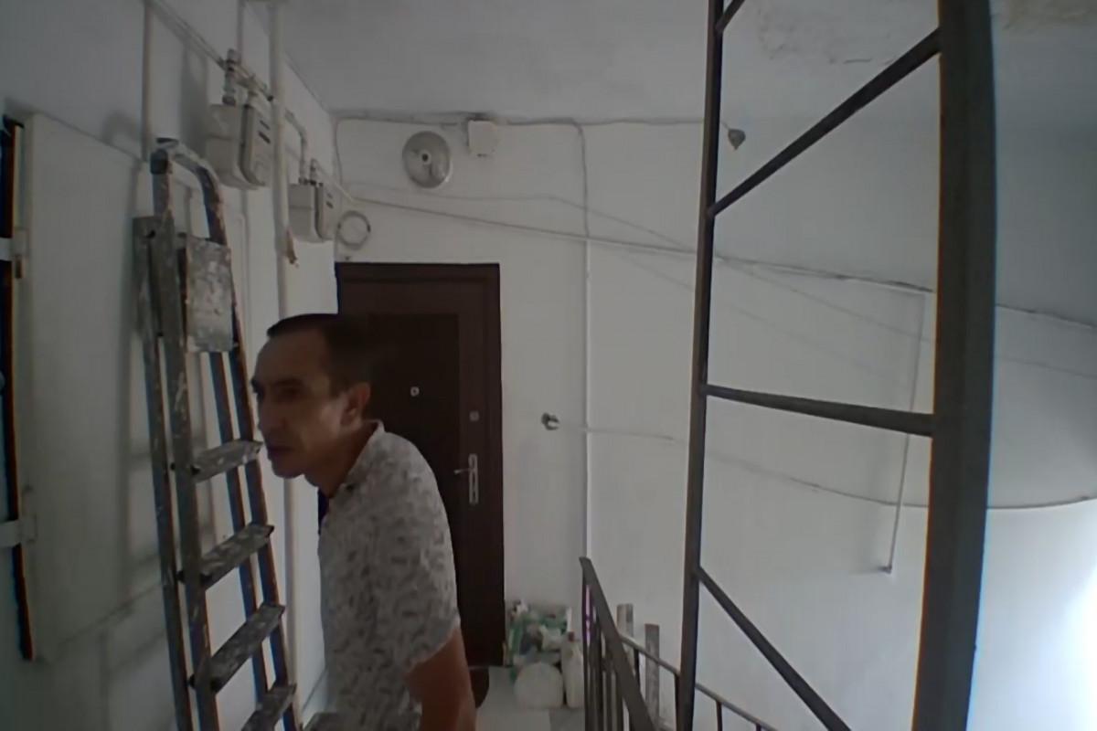 Xətai rayonunda binalarda liftlərin ehtiyat hissələrini oğurlayan şəxs saxlanılıb