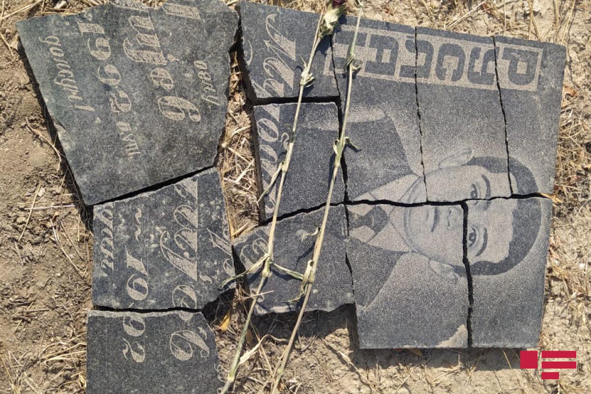Спецпредставитель ЕС проинформирован о вандализме армян на Аллее Шехидов в Агдаме