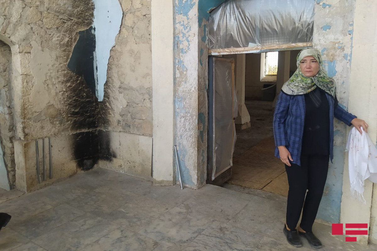 Делегация АО ОИС в Агдамской джума-мечети