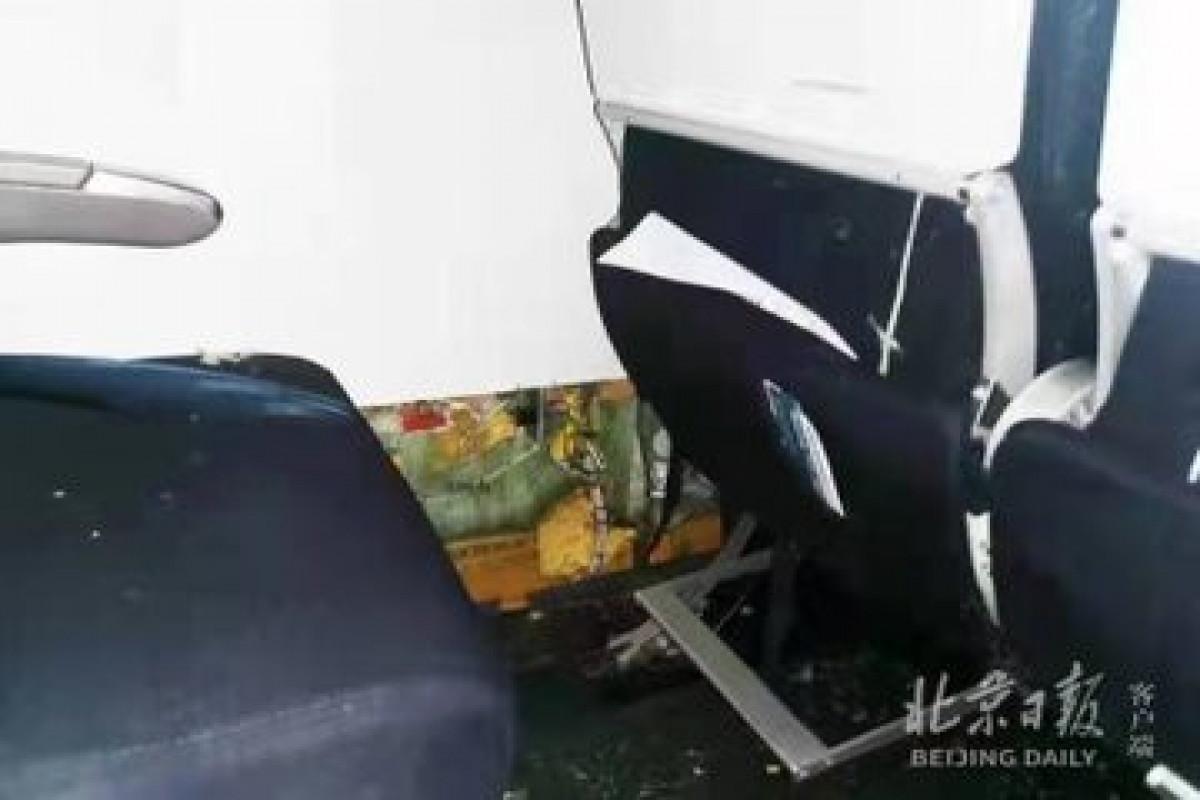 Air France plane makes emergency landing in Beijing over fire on board