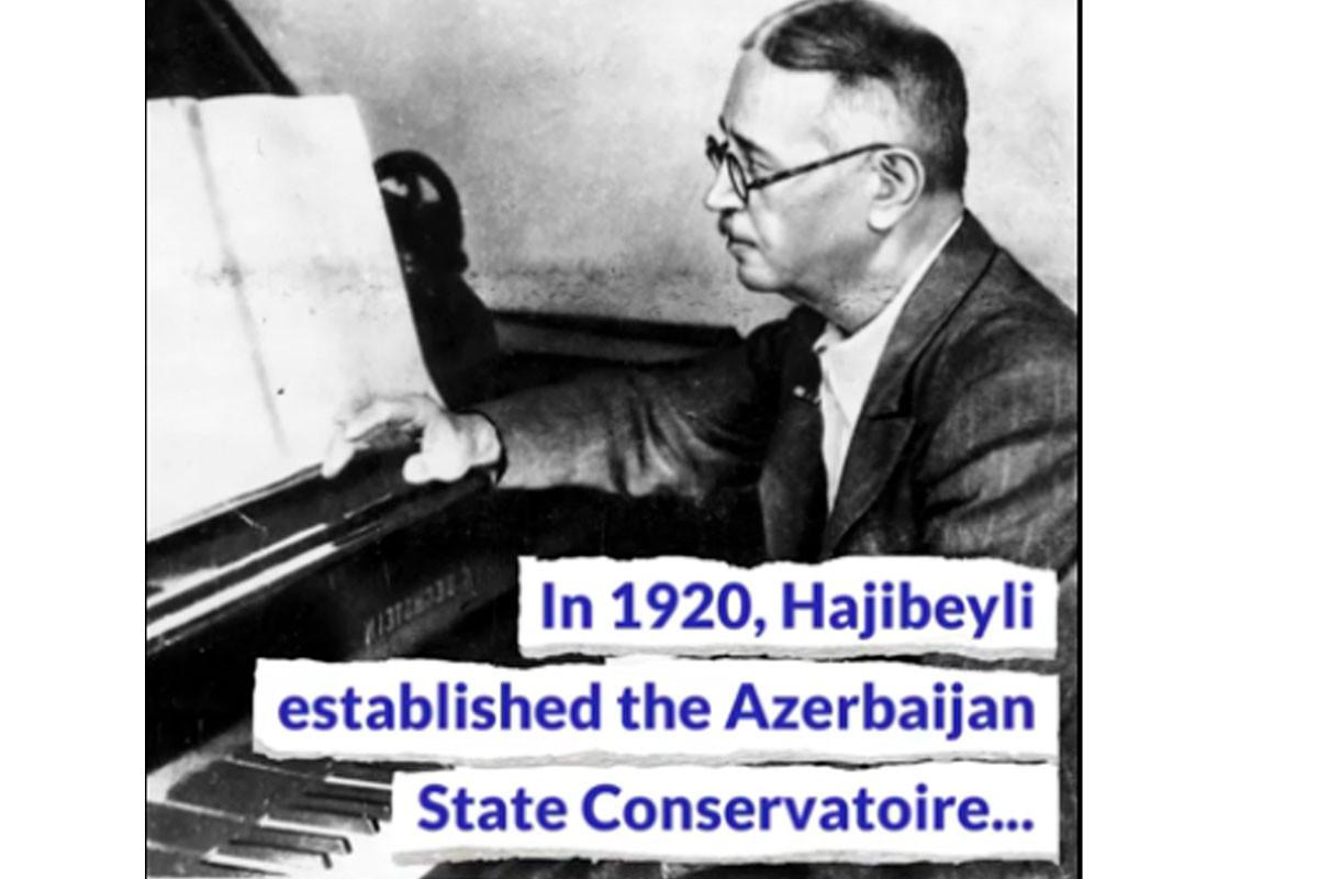 Film on renowned Azerbaijani composer Uzeyir Hajibeyli produced in Los Angeles-VIDEO