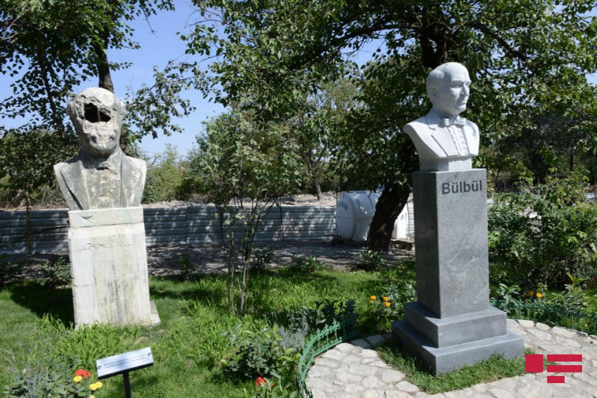 Полад Бюльбюльоглу: Мы и во сне не могли увидеть, что через год  восстановим дом-музей Бюльбюля в Шуше-ФОТО