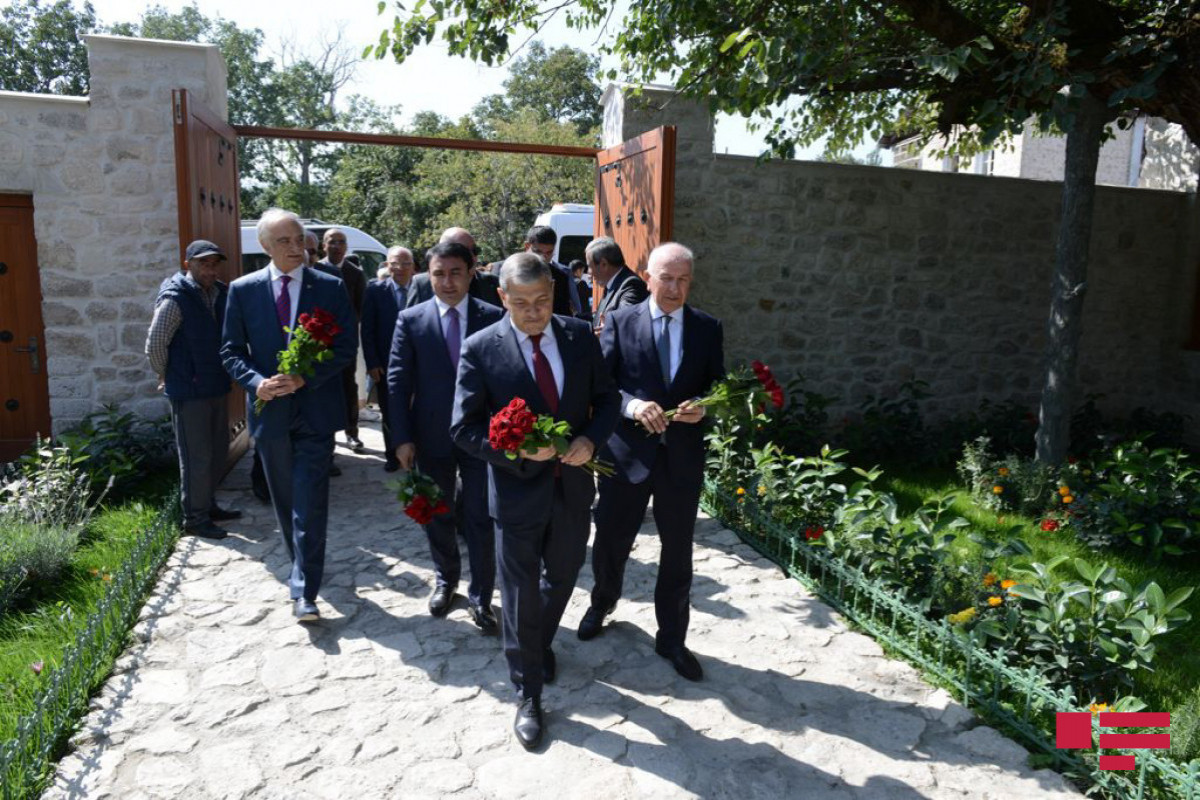 """Polad Bulbuloglu: """"We could not dream that we will restore Bulbul's House Museum in Shusha after a year""""-PHOTO"""