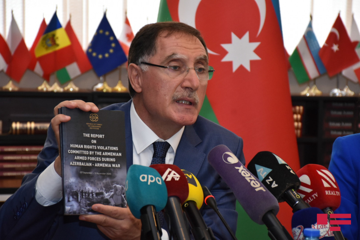 """Seref Malkoc: """"We saw destroyed, destructed historical heritage as a result of Armenia"""