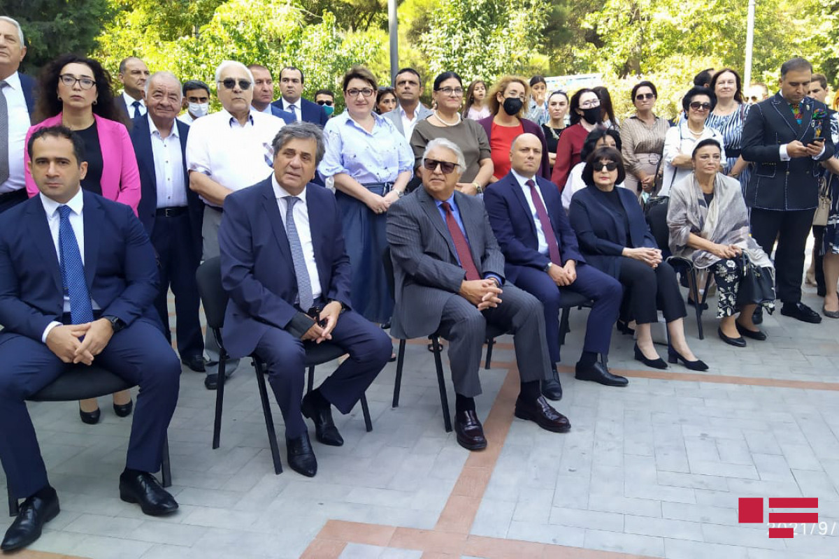 Event held in Baku Music Academy regarding National Music Day