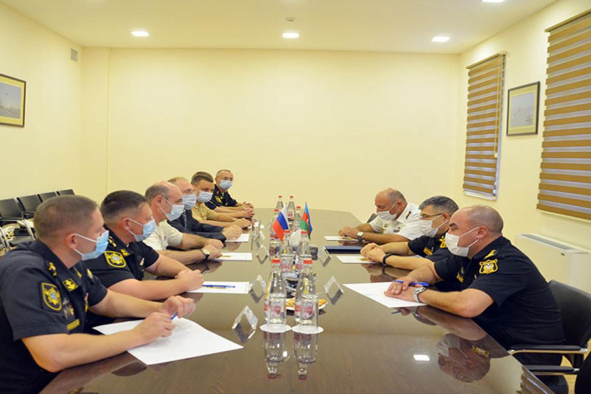 MoD: Meeting of Azerbaijani and Russian military seamen was held in Baku